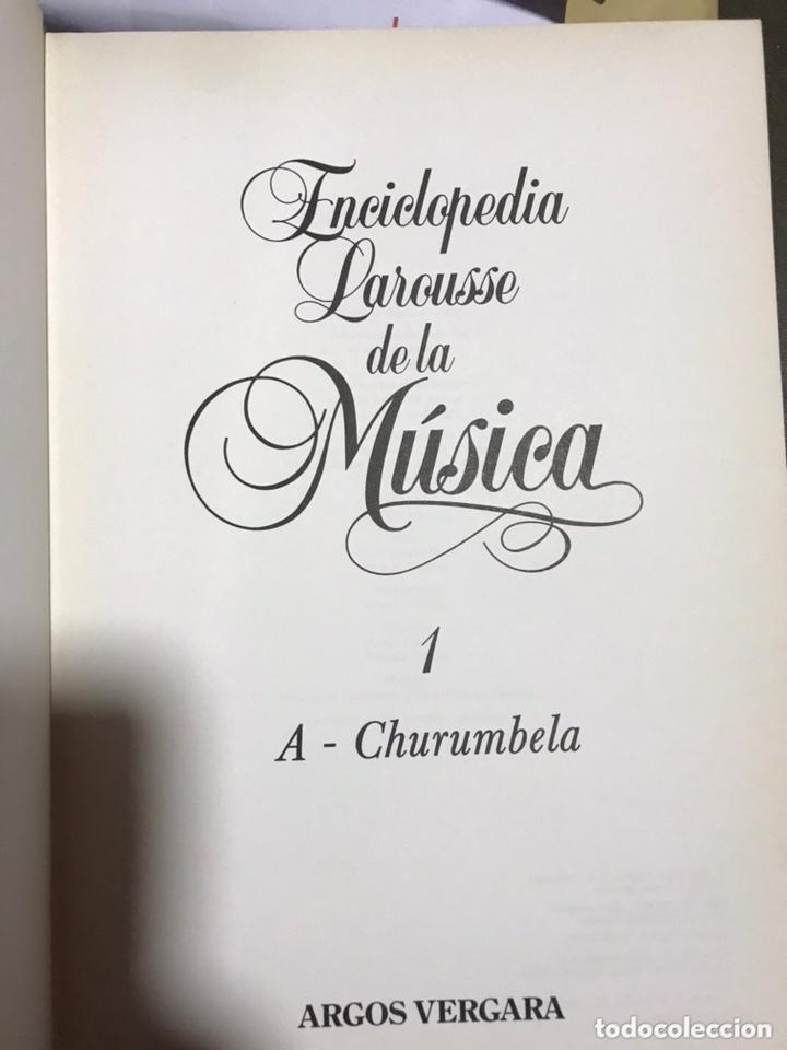 Libros: Enciclopedia Larousse de la Música 4 tomos - Foto 2 - 172235380