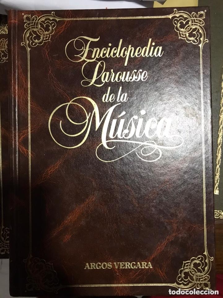 Libros: Enciclopedia Larousse de la Música 4 tomos - Foto 3 - 172235380