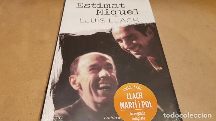 ESTIMAT MIQUEL / LLUÍS LLACH / INCLOU 2 CDS - DISCOGRAFIA COMPLETA / LIBRO PRECINTADO. (Libros Nuevos - Bellas Artes, ocio y coleccionismo - Música)