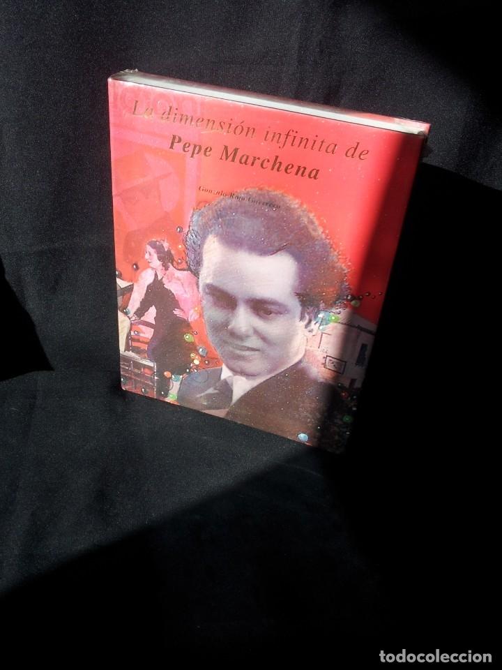 GONZALO ROJO GUERRERO - LA DIMENSION INFINITA DE PEPE MARCHENA - EDICIONES GIRALDA - SIN ABRIR (Libros Nuevos - Bellas Artes, ocio y coleccionismo - Música)