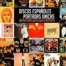 Libros: LIBRO DISCOS ESPAÑOLES – PORTADAS ÚNICAS NUEVO. Lote 178793982