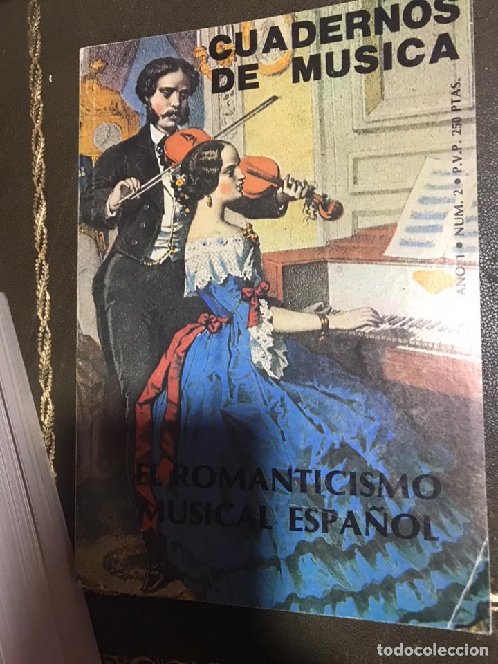 CUADERNOS DE MÚSICA. EL ROMANTICISMO MUSICAL ESPAÑOL. (Libros Nuevos - Bellas Artes, ocio y coleccionismo - Música)