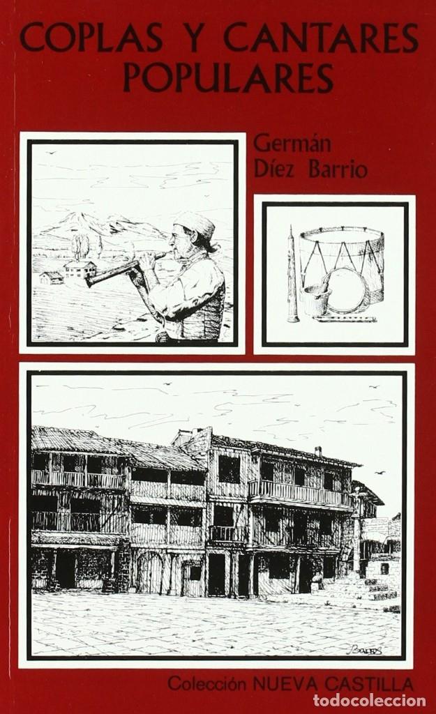 COPLAS Y CANTARES POPULARES (GERMÁN DÍEZ BARRIOS) CASTILLA 1995 (Libros Nuevos - Bellas Artes, ocio y coleccionismo - Música)