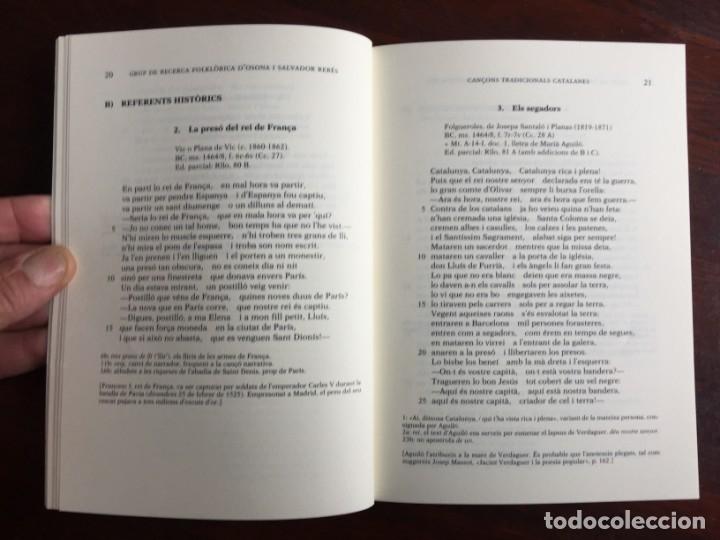 Libros: Cançons tradicionals Catalanes recollides per jacint Verdaguer, amb CD del grup folkloric GRFO - Foto 4 - 182614246