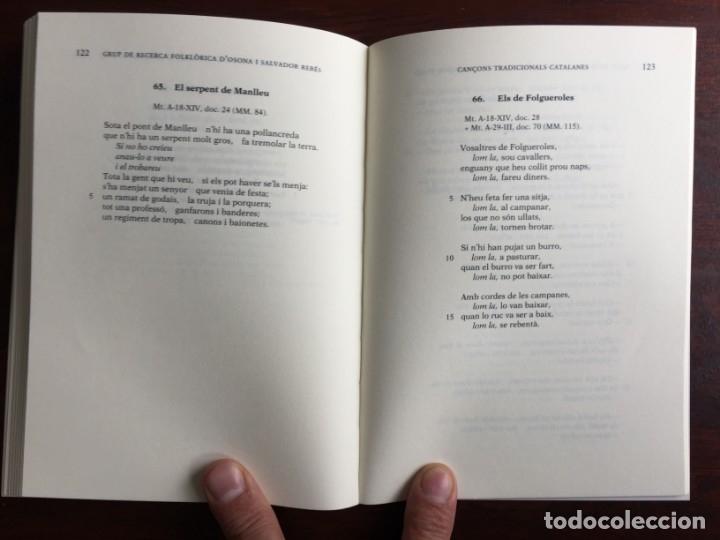 Libros: Cançons tradicionals Catalanes recollides per jacint Verdaguer, amb CD del grup folkloric GRFO - Foto 9 - 182614246