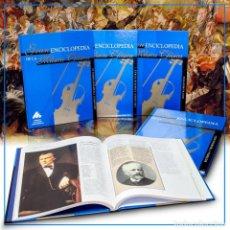 Libros: GRAN ENCICLOPEDIA DE LA MÚSICA CLÁSICA. 4 TOMOS - VARIOS AUTORES (CARTONÉ) DESCATALOGADO!!! OFERTA!!. Lote 184101856