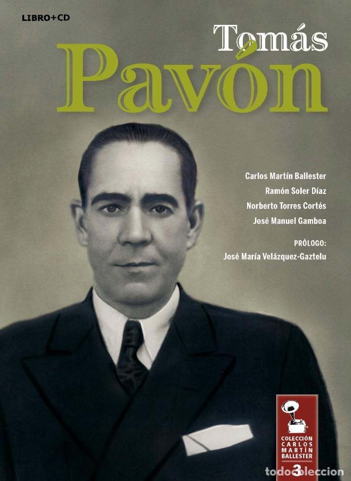 LIBRO-DISCO: TOMÁS PAVÓN. COLECCIÓN CARLOS MARTÍN BALLESTER (Libros Nuevos - Bellas Artes, ocio y coleccionismo - Música)