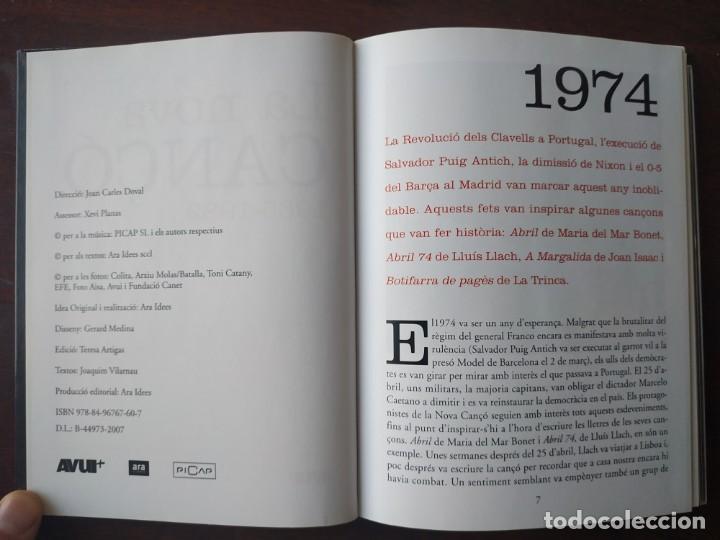 Libros: La nova cançó 1965-1982 Amb DVD amb una 15 de les millors cançons del 1974 recull documental imatges - Foto 3 - 187145515