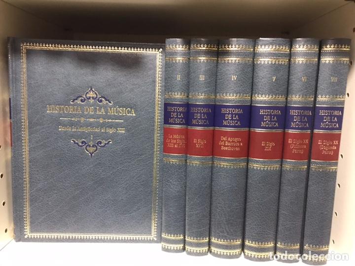 HISTORIA DE LA MÚSICA, A CARGO DE LA SOCIEDAD ITALIANA DE MUSICOLOGÍA. TARAZONA (Libros Nuevos - Bellas Artes, ocio y coleccionismo - Música)