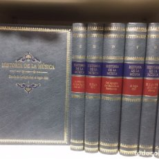 Libros: HISTORIA DE LA MÚSICA, A CARGO DE LA SOCIEDAD ITALIANA DE MUSICOLOGÍA. TARAZONA. Lote 192276120