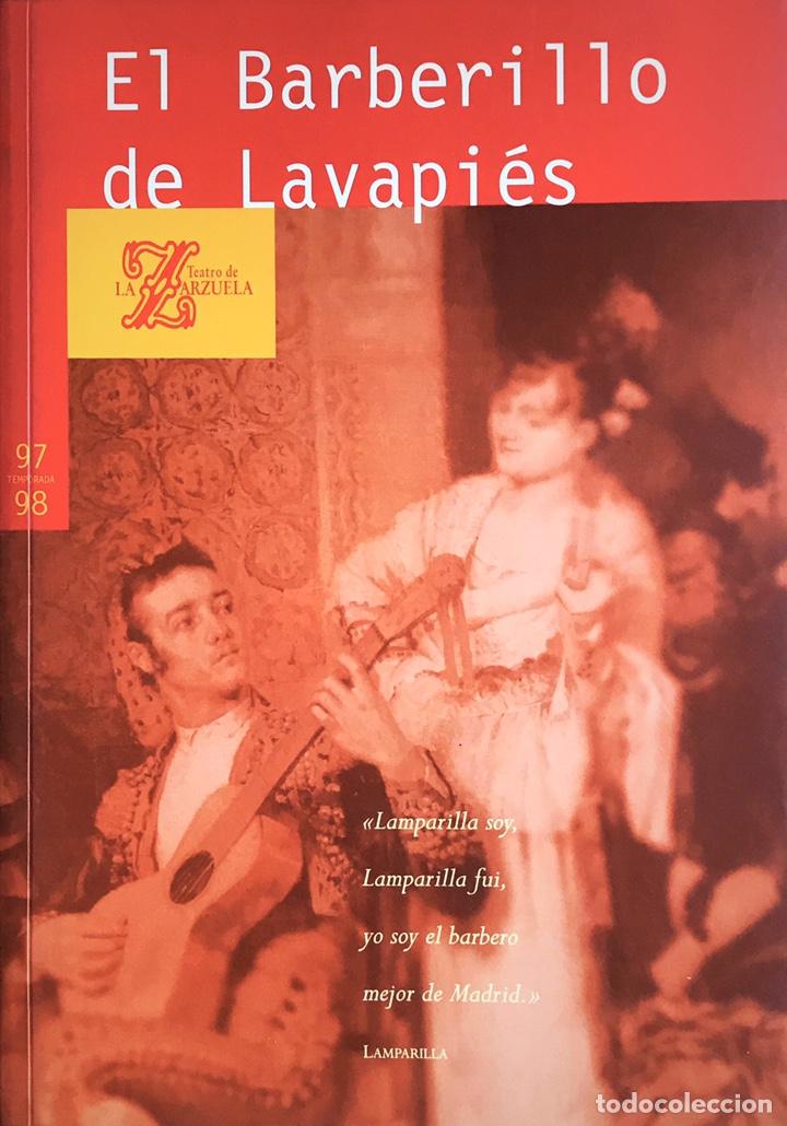 EL BARBERILLO DE LAVAPIÉS (Libros Nuevos - Bellas Artes, ocio y coleccionismo - Música)