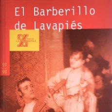 Libros: EL BARBERILLO DE LAVAPIÉS. Lote 195625583