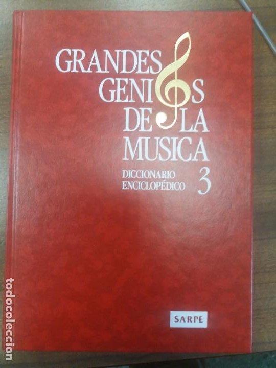 Libros: Diccionario enciclopédico GRANDES GENIOS DE LA MUSICA (4 Tomos) - Foto 2 - 197390472