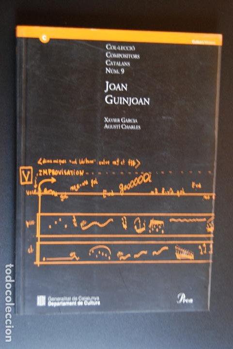 6- XAVIER GARCIA I AGUSTÍ CHARLES - JOAN GUINJOAN - DEPARTAMENT CULTURA GENERALITAT DE CATALUNYA, 19 (Libros Nuevos - Bellas Artes, ocio y coleccionismo - Música)