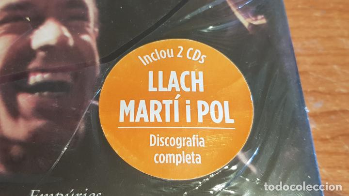 Libros: ESTIMAT MIQUEL / LLUÍS LLACH / INCLOU 2 CDS - DISCOGRAFIA COMPLETA / LIBRO PRECINTADO. - Foto 2 - 200522403