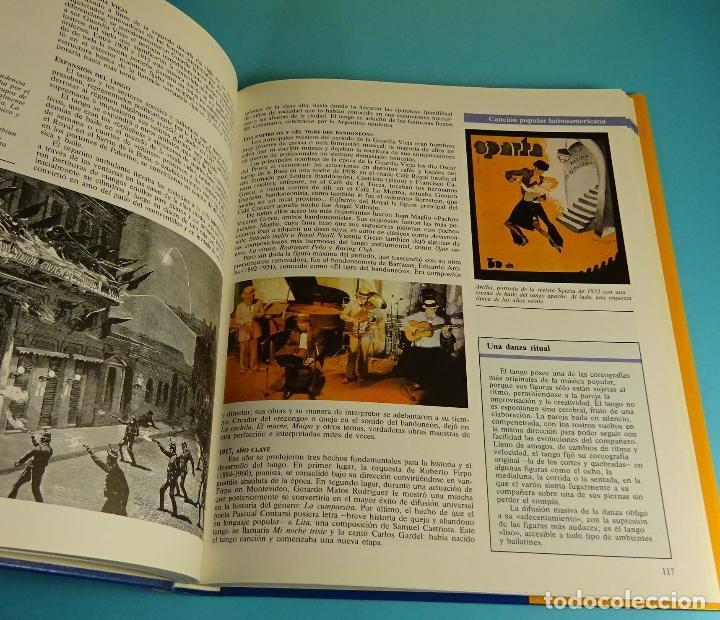 Libros: MÚSICAS Y CANCIONES DEL MUNDO. TOMO 5 DE GRAN DISCOTECA FAMILIAR. PLANETA - Foto 3 - 204182258