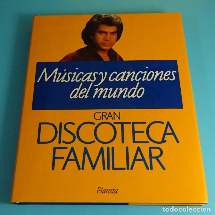 MÚSICAS Y CANCIONES DEL MUNDO. TOMO 5 DE GRAN DISCOTECA FAMILIAR. PLANETA (Libros Nuevos - Bellas Artes, ocio y coleccionismo - Música)