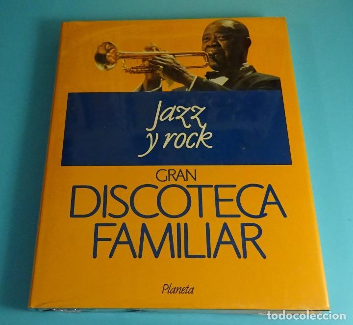 JAZZ Y ROCK. TOMO 3 DE GRAN DISCOTECA FAMILIAR. PLANETA (Libros Nuevos - Bellas Artes, ocio y coleccionismo - Música)