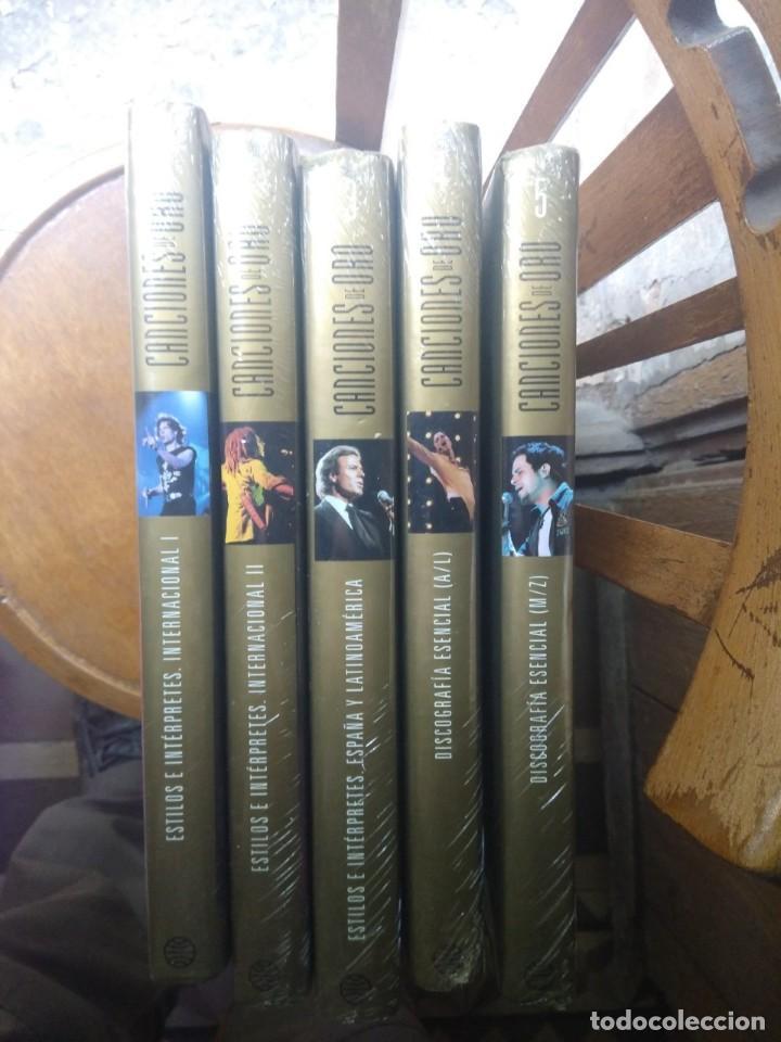 Libros: ENCICLOPEDIA MUSICAL CANCIONES DE ORO ( 5 TOMOS, COMPLETA, NUEVA, PRECINTADA) - Foto 12 - 205104661