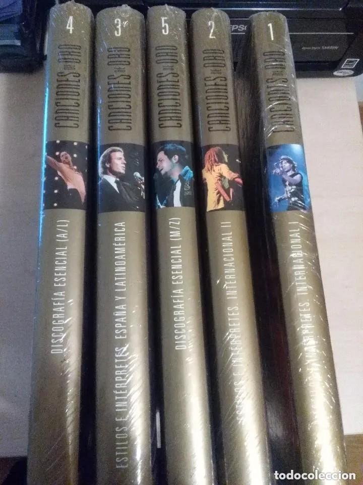 ENCICLOPEDIA MUSICAL CANCIONES DE ORO ( 5 TOMOS, COMPLETA, NUEVA, PRECINTADA) (Libros Nuevos - Bellas Artes, ocio y coleccionismo - Música)