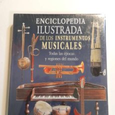 Libros: ENCICLOPEDIA ILUSTRADA DE LOS INSTRUMENTOS MUSICALES. ULLMANN / KONEMANN - 2011 - NUEVO PRECINTADO. Lote 208305607