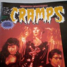 Libros: THE CRAMPS. HERMOSOS MONSTRUOS. Lote 210521292