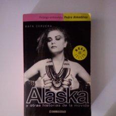Libros: ALASKA BIOGRAFIA. Lote 210522041