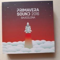 Libros: LIBRO PRIMAVERA SOUND 2016. Lote 212857860