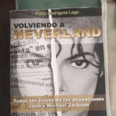 Libros: VOLVIENDO A NEVERLAND. Lote 214652692