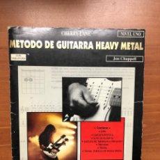 Libros: METODO DE GUITARRA HEAVY METAL NIVEL 1. Lote 254977820