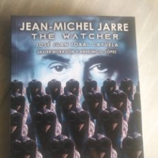 Libros: JEAN MICHEL JARRE THE WATCHER. Lote 218138258