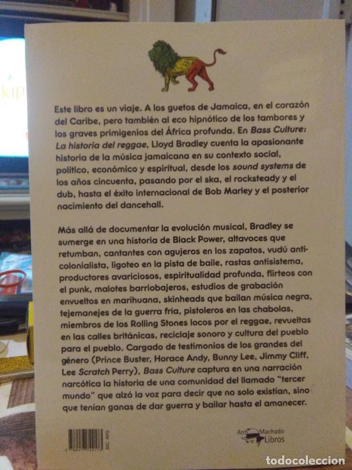 Libros: Lloyd Bradley.Bass Culture(La historia del reggae).ReCORRIDOS - Foto 2 - 218642483