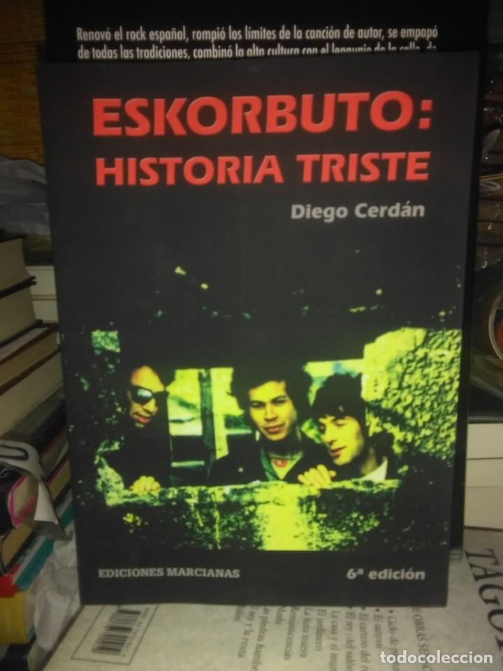 DIEGO CERDAN.ESKORBUTO(HISTORIA TRISTE).EDICIONES MARCIANAS (Libros Nuevos - Bellas Artes, ocio y coleccionismo - Música)