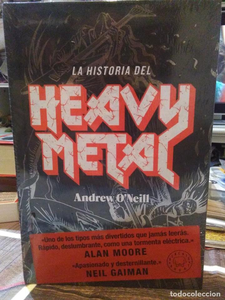 ANDREW O'NEILL.LA HISTORIA DEL HEAVY METAL.BLACKIE BOOKS (Libros Nuevos - Bellas Artes, ocio y coleccionismo - Música)