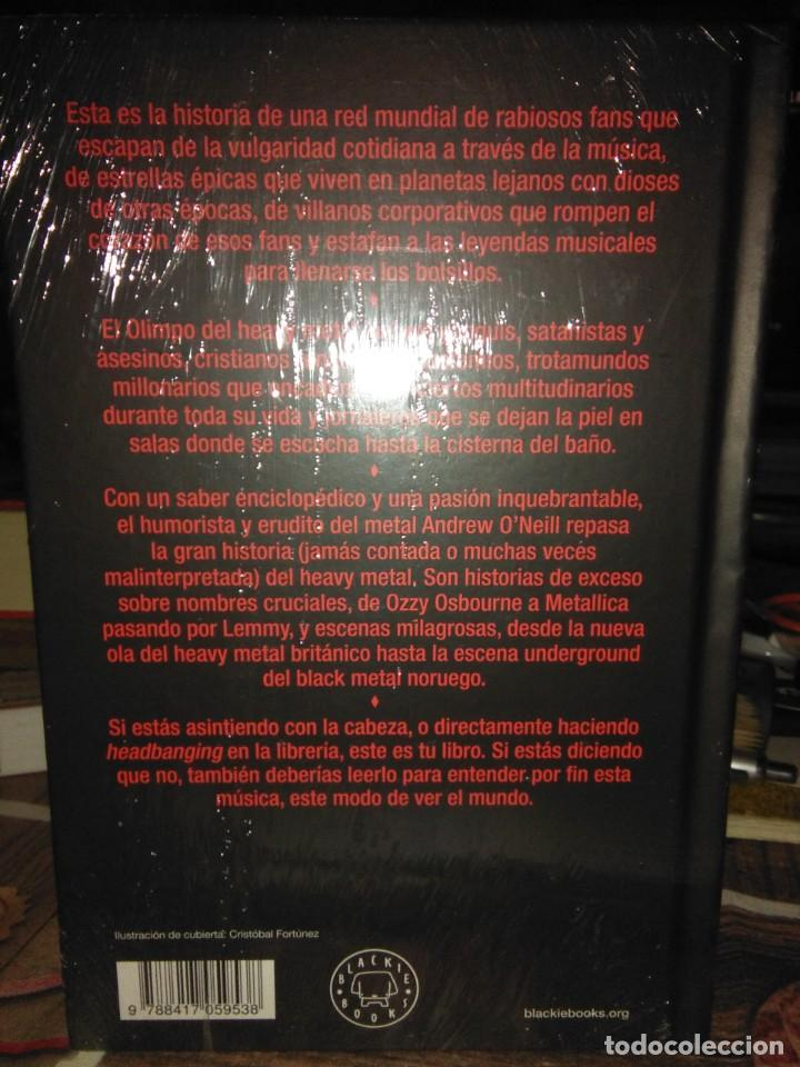 Libros: Andrew ONeill.La historia del Heavy Metal.BLACKIE BOOKS - Foto 2 - 218647842