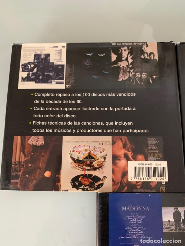 Libros: Lote de Libros Los 100 discos más vendidos de los 60/80/90 - Foto 2 - 218733888