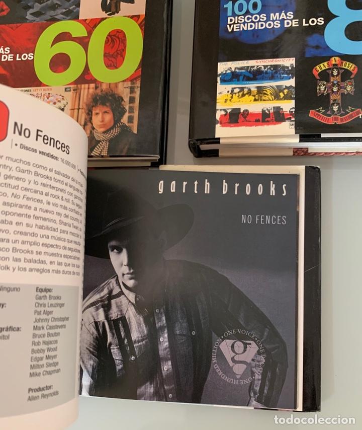 Libros: Lote de Libros Los 100 discos más vendidos de los 60/80/90 - Foto 6 - 218733888