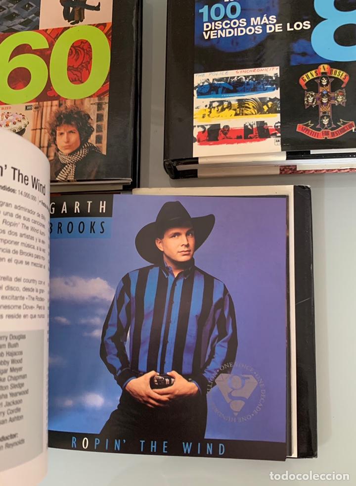Libros: Lote de Libros Los 100 discos más vendidos de los 60/80/90 - Foto 7 - 218733888