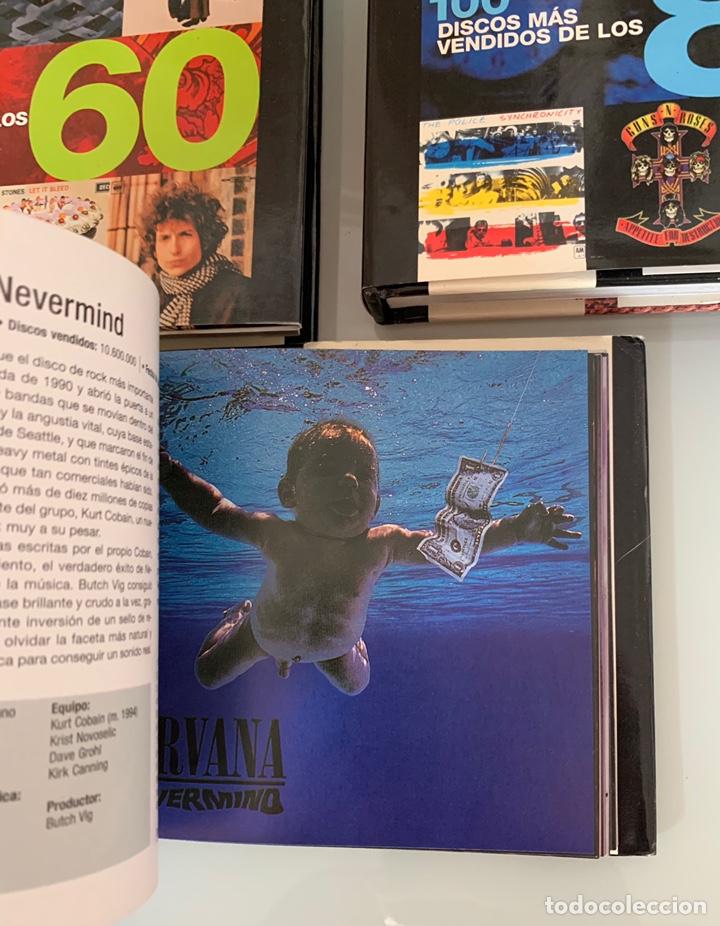 Libros: Lote de Libros Los 100 discos más vendidos de los 60/80/90 - Foto 8 - 218733888