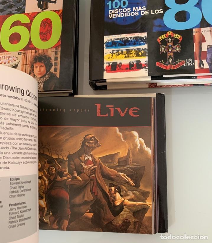 Libros: Lote de Libros Los 100 discos más vendidos de los 60/80/90 - Foto 9 - 218733888