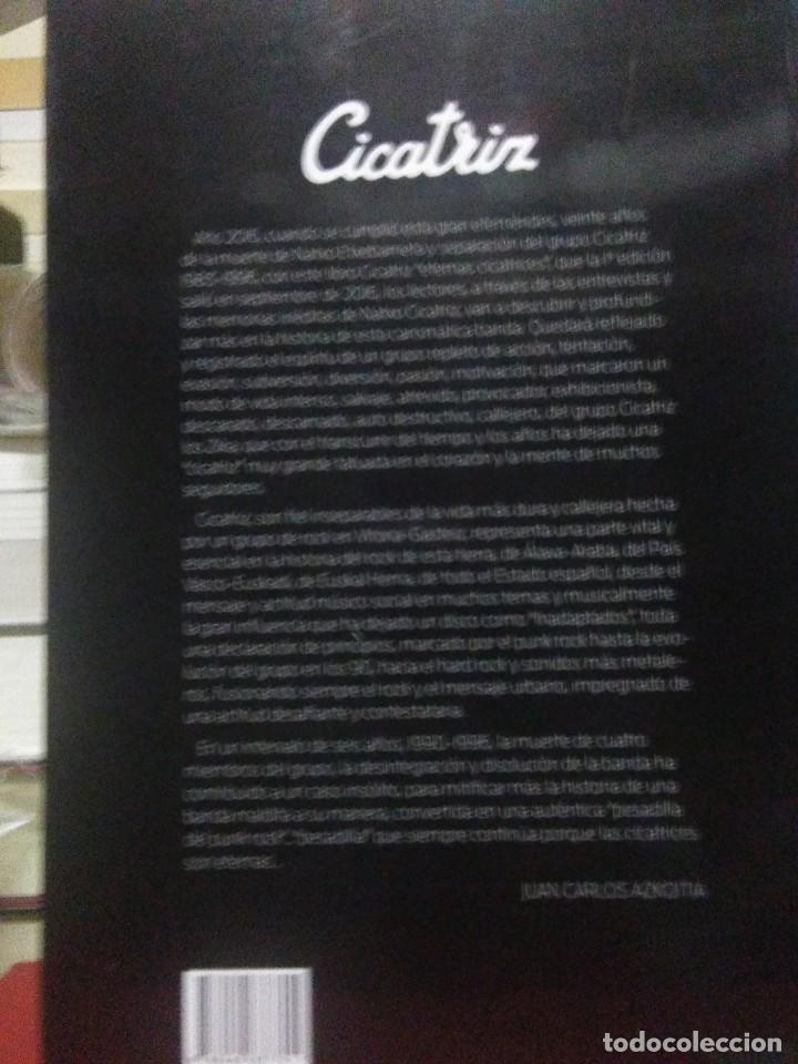 Libros: Juan Carlos Azkoitia.Cicatriz(Eternas cicatrices).J.C.Azkoitia Editor - Foto 2 - 218799852