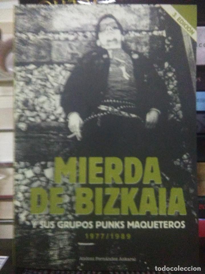 ANDONI FERNÁNDEZ.MIERDA DE BIZKAIA.EDICIONES SIN GLUTEN (Libros Nuevos - Bellas Artes, ocio y coleccionismo - Música)