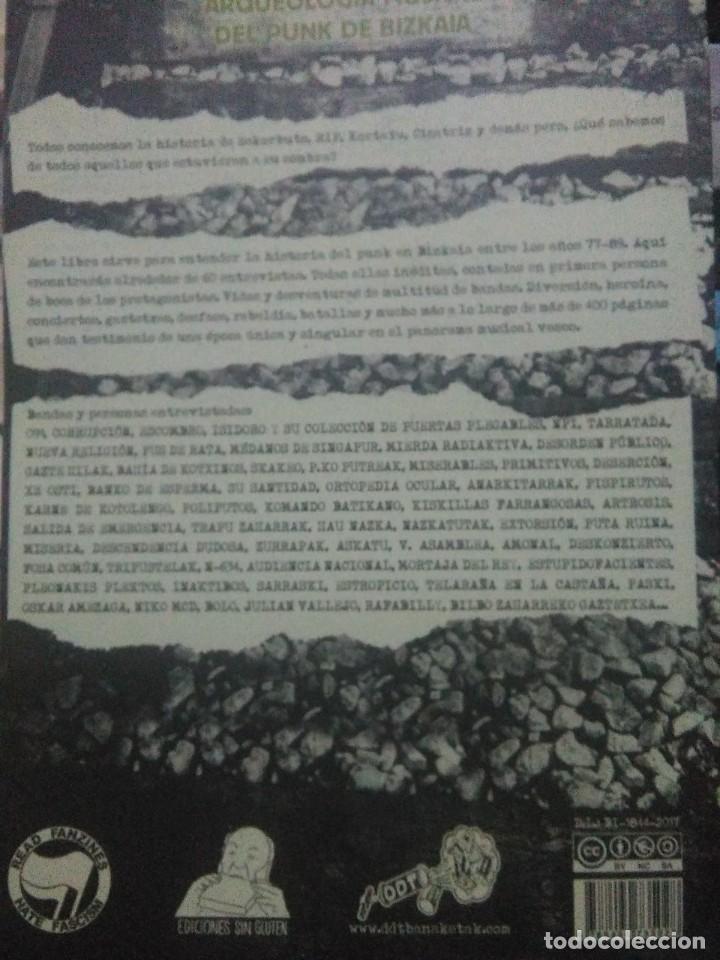 Libros: Andoni Fernández.Mierda de Bizkaia.EDICIONES SIN GLUTEN - Foto 2 - 218800422