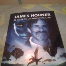 Libros: JAMES HORNER, EL DON DE LA INMORTALIDAD.. Lote 218962877
