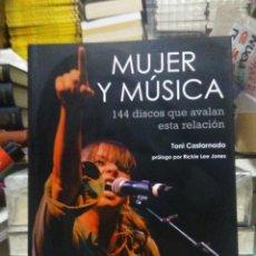 Libros: TONI CASTARNADO. MUJER Y MÚSICA.66RPM. Lote 220302911