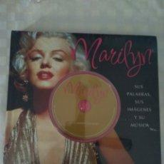 Libros: LIBRO DE MARILYN MONROE CON CD ( NUEVO ). Lote 219591193