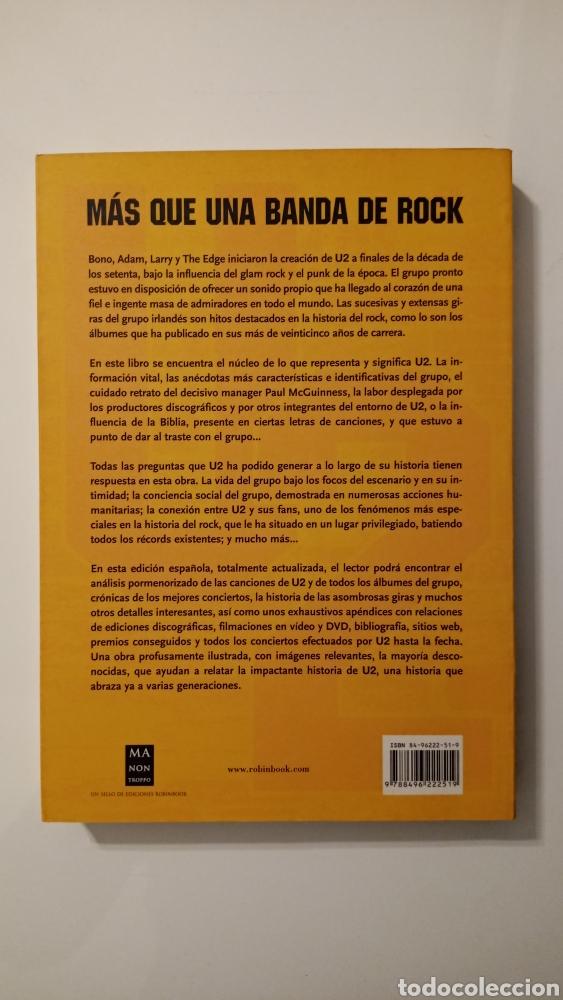 Libros: U2 - Más Que Una Banda De Rock - Foto 2 - 222070848