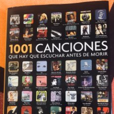 Libros: 1001 CANCIONES QUE HAY QUE ESCUCHAR ANTES DE MORIR. Lote 226693680