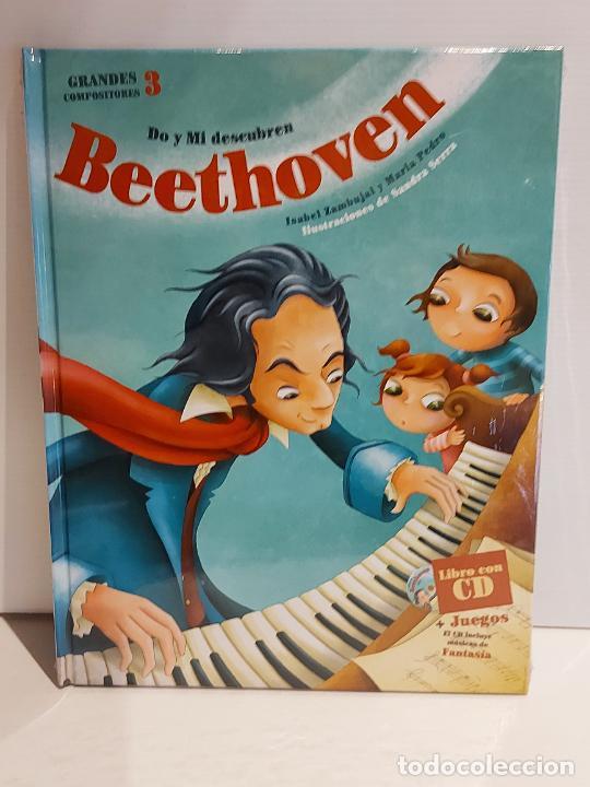 DO Y MI DESCUBREN BEETHOVEN / GRANDES COMPOSITORES 3 / LIBRO CON CD + JUEGOS / PRECINTADO. (Libros Nuevos - Bellas Artes, ocio y coleccionismo - Música)