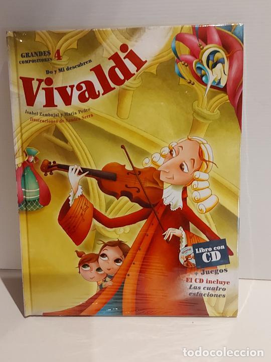 DO Y MI DESCUBREN VIVALDI / GRANDES COMPOSITORES 4 / LIBRO CON CD + JUEGOS / PRECINTADO. (Libros Nuevos - Bellas Artes, ocio y coleccionismo - Música)
